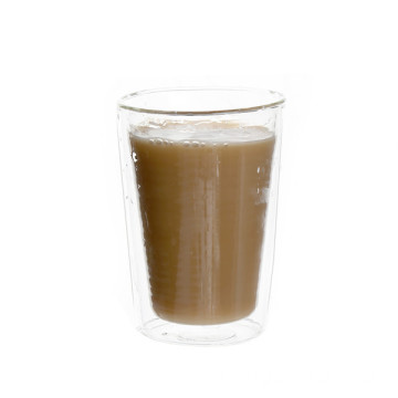 Factory Cheap price for Handmade Glass Cup Heat Resistant Glass Double Layer Coffee Cup export to Madagascar Suppliers