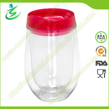 Gobelet plastique en plastique en forme de U de 300 Ml