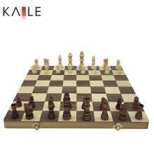 Peças de xadrez de madeira Interational de alta qualidade