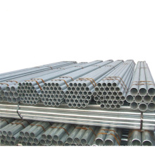 Galvanized steel pipe hot dipped galvanized used for conveying gas ERW steel pipe