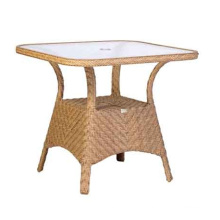Resin Rattan Wicker Garden Outdoor Furniture Patio Table