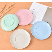 4 pares de placas de palha de trigo saudável