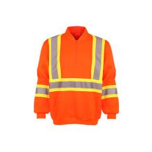 Wholesale Reflective Fleece Safety Sweatshirt