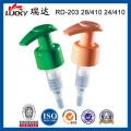 Pompe Lotion fermeture lisse ou nervurée avec un Design haut de gamme