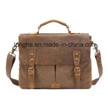 Retro Niet-Segeltuch-Dame Handbag (LY0069)
