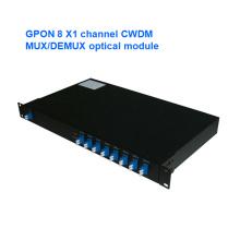 Gpon Channel Mux / Demux Optical Module CWDM