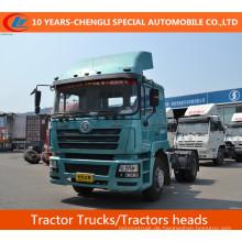 Shacman 4X2 Sattelzugmaschinen, 385HP Traktoren Köpfe