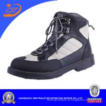 Nuevo estilo hombres vadeando zapatos negros