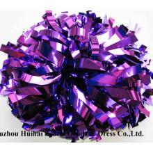 Púrpura metálico POM Poms