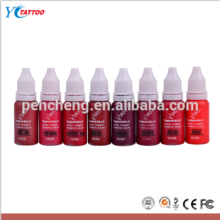 Good quality and best price 1/2 Oz glitter tattoo ink for lip