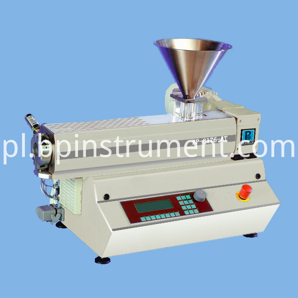Equipment Bench Top Small Single Screw Extruder