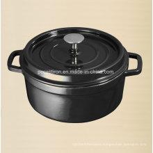 2.8L Enamel Cast Iron Casserole Factory Size Dia 22cm