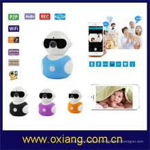 Monitor sem fio esperto do bebê do monitor 1.3M do bebê de WiFi do Multi-uso