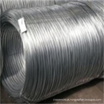 Fio de aço revestido de liga de alumínio-mischmetal de fio de aço de zinco-5%