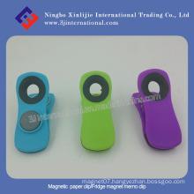 White / Strong / Plastic / Metal / Paper / Fridge / Magnet / Memo / Magnetic Clip