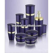 Mushroom Form Kunststoff Acryl Flasche Kosmetik Verpackung Hot Selling Acryl Lotion Flaschen für Hautpflege Creme