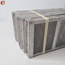 Canasta de ánodo de titanio Gr2 utilizada para la industria química