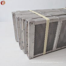 Cesta Titanium do ânodo Gr2 usada para a indústria química