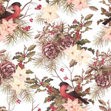 Digital Printed Fashion Nylon Fabric (ASQ084)