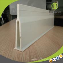 Faisceau de support de fibre de verre pour des supports de plancher de caisse de mise bas de porc