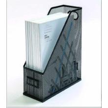 Revista de los efectos de escritorio de la oficina de la malla de alambre del hierro