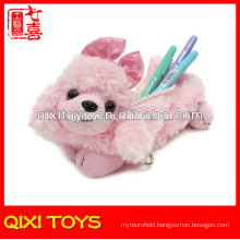 Cute Stuffed Puppy Pencil Case Plush Animal Pencil Case