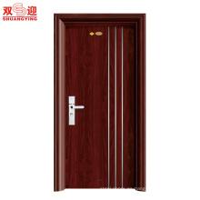 Diseño de puerta de entrada principal de acero indio