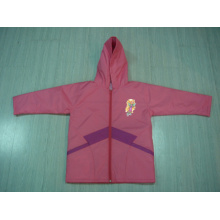 Yj-1140 Children′s Pink Cute Waterproof Jacket Rainwear Raincoat Online Shopping
