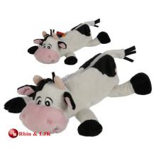 Caja de lápiz preciosa promocional de encargo de la vaca de la felpa