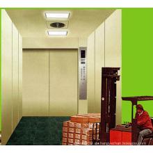 Maschinenraum-Lastenaufzug mit Plattenstahl