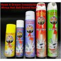 China Melhor vender fábrica preço poderoso insecticida / Mosquito Killer Insecticide Spray