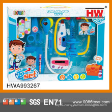 2015 Best selling children plastic toy doctor kit toy stethoscope