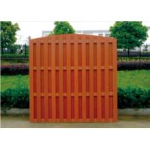 1800 * 1800 barrière en bois à l'extérieur en plastique composite WPC Clôture