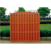 1800*1800 Cheap Outdoor Wood Plastic Composite WPC Fence