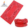 Ningbo lingshang Tubo de microfibra atacado bandana multifuncional sem costura