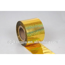2014 Durable holographic pvc film for gift