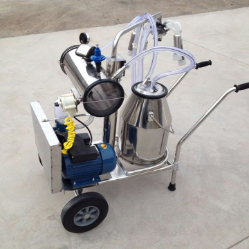 One Bucket Vacuum Pump Milking Machine
