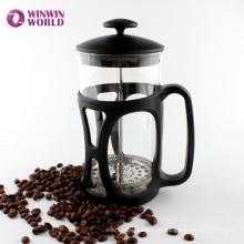 Potenciômetro plástico do café da imprensa do francês do vidro de Pyrex dos PP do presente da promoção 350ml