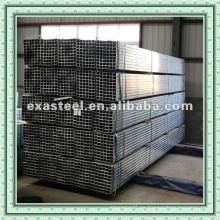 Tubería / tubo de acero cuadrado de carbono negro Q135-Q345