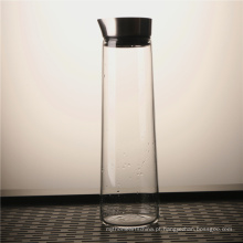 Promotional Heat Resistant Clear Glass Water Jug With Lid