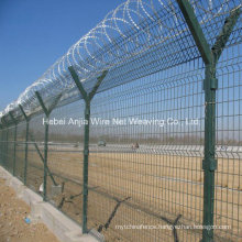 High Securiy Welded Wire Mesh Border Fence