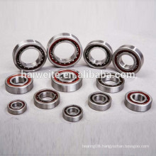 High quality double row angular contact ball bearing for charging pump