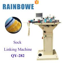 nouvelle conception haute efficace machine à coudre chaussette reliant la machine