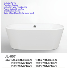 Mini Acrylic Oval Freestanding Bathtub