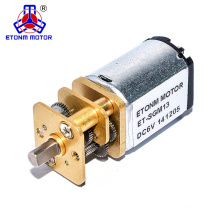 5v round spur gear motor for water meter