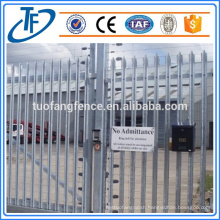 High Quality Standard Security Palisade Fence Used for Sale Made in China