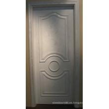 Puerta de pintura de chapa de madera (008)