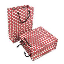 Shopping Flexo Clothes Paper Bag With Logo
