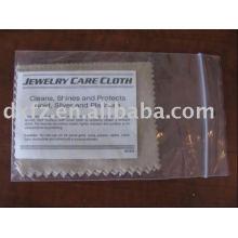 Салфетка для чистки линз микрофибры / ткань из микроволокна для серебра