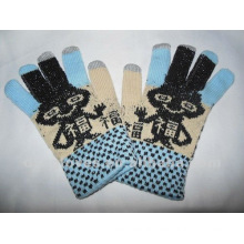 acrylic knitted gloves for iphone